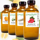 8 fl oz Essential Oil in Amber Glass, Free Shipping, 60+ Pure Natural Oils