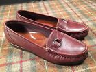 SAS Tripad Comfort Brown Burgundy Loafer Shoes Womens 8 N Excellent
