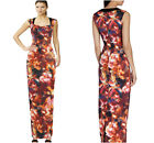 New KAREN MILLEN Matt Satin BNWT £250 Evening BallGown Prom Pencil Maxi Dress