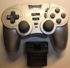 Predator Pelican Wireless PlayStation PS2 Controller & dongle tested and working