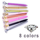 Pop Xmas Metal Diamond Head Crystal Ball Pen Concert Creative Stationery Gifts