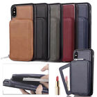 Removable Wallet Cover Case Card Slot with Mirror For iPhone 7 7 Plus 8 8Plus