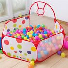 Foldable Kids Toy Ball Play House Pit Pool Game Hut Tent Indoor Outdoor Portable