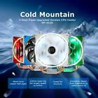 SOPLAY CPU Cooler 4 Heatpipes 4pin 12cm LED Fan  SP-4120 for AMD AM4/AM3 S4S4