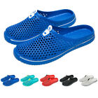 Men Women Summer Casual Slippers Flat Sandals Hollow Shoes Travel Lovers Shoes
