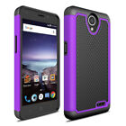 For ZTE Maven 3 Z835/Prestige 2 Rugged Armor Phone Case Hybrid Rubber Hard Cover