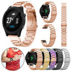 Fashiion Stainless Steel Strap Quick Replacement Band For Garmin Fenix 5 Watch