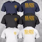 NEW JERSEY police Department State Honor Duty Fidelity Logo - Custom T-Shirt Tee image