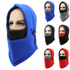 Cycling Outdoor Unisex Winter Hat Warm Head Hat Fleece Face Masks Double Layer