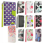 For ZTE Majesty Pro Premium Leather Wallet Case Pouch Flip Phone Cover Accessory