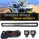 32Inch 180W  LED Work Light Bar Flood Spot Combo for Off-road SUV ATV JEEP
