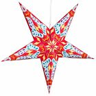 Paper Star Lights - 3D Star Lantern Decorations with 12 Foot Power Cord Included