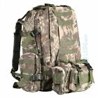 55L Molle Outdoor Military Tactical Bag Camping Hiking Trekking Backpack Packs