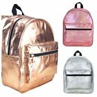 Miso Cosmo Metallic Gold Silver Pink Glitter Backpack
