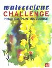Watercolour Challenge:Practical Painting Course Hardback Book The Fast Free
