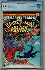 MARVEL TEAM-UP #20 CBCS 9.4 OW/WP BLANK PANTHER
