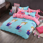 Single Queen King Bed Set Pillowcase Quilt Cover Cotton Blend Tusl Pretty Girl m