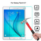 9H Genuine Tempered Glass Screen Film Protection Case For Samsung Tablet Android