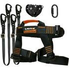 Fusion Tactical Pro Zip Line Kit Harness/2 LanyardCarabinerTrolley FTK-A-HLLCT07