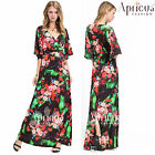 Plus Size Women Long Black Prom Evening Bell Sleeves Party Maxi Formal Dresses