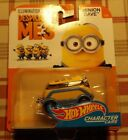 2017 Hot Wheels DESICABLE ME 3 MINION DAVE CHARACTER CAR 1/6 COMBINE SHIPPING