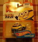 2017 Hot Wheels DESICABLE ME 3 MINION JERRY CHARACTER CAR 3/6 COMBINE SHIPPING