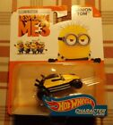 2017 Hot Wheels DESICABLE ME 3 MINION TOM CHARACTER CAR 4/6 COMBINE SHIPPING