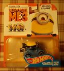 2017 Hot Wheels DESICABLE ME 3 MINION STUART CHARACTER CAR 2/6 COMBINE SHIPPING