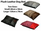 LARGE PLUSH WASHABLE PET DOG PUPPY CAT BED SOFT WARM BASKET PILLOW CUSHION