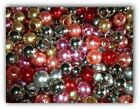 Mixed Fashion Imitation Pearl Acrylic Big Hole Beads Fit European Bracelet