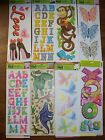 Wall Wallies Removeable Wall Art Decor L@@K VARIOUS Designs
