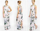 New Ted Baker Rose Floral BNWT £249 Evening Cocktail Party Maxi Ball Gown Dress