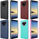 For Samsung Galaxy S8 / S8 PLUS Brushed Hybrid Card Case Phone Cover Accessory