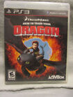 """Play Station 3 """"HOW TO TRAIN YOUR DRAGON """" Pre-Owned (B/78)"""