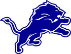 "Detroit Lions lion logo 3"" White or Blue Vinyl Decal Truck Car Window $2.5 USD on eBay"