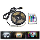 cable usb 5m - 1m 3m 5m IP20 3528 SMD DC 5V USB LED strip RGB remote control USB cable adapter