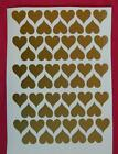 55 Heart Shaped Stickers, lots of colours!, decoration, crafting, spray tattoos