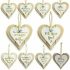 Wooden Heart Door Hanging Sign Wall Plaques Home Alcohol Party Special Gift Idea