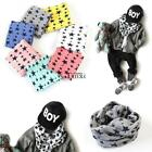 New Fashion Kids Long Warm Stars Printed Snood Outdoor Neck Warmer TXCL