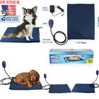 US Pet Heating Mat Electric Pad Dog Cat Bed Warm Blanket Bed Heat Thermal Pillow