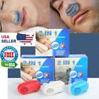 Anti Snore Nasal Dilators Apnea Aid Device Stop Snoring Nose Clip Silicone New