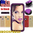 3 Layer Shiny Shockproof Cover Hybrid Hard Case For Apple iPhone X 7 8 Plus  iphone x cases 3 layers 3025694383684040 1