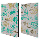 OFFICIAL CAT COQUILLETTE SEA 2 LEATHER BOOK WALLET CASE COVER FOR APPLE iPAD
