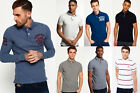 New Mens Superdry Polo Shirts Selection - Various Styles & Colours 1912