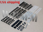 Motorcycle Sportbike Complete Fairing Bolts Kit Fastener Clips Screws USA Ship