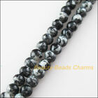 100 New Charms Colors Mixed Loose Round Ball Glass Chic Spacer Beads 4mm