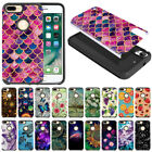 """For Apple iPhone 8 Plus/ iPhone 7 Plus 5.5"""" Shock Proof Impact Hybrid Case Cover"""
