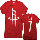 Houston Rockets Majestic Threads: NBA Premium Tri-Blend Name & Number