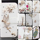 Luxury Leather Magnetic Flip Stand Card Slot Wallet Case Cover For Mobile Phone