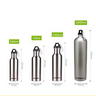 Portable Stainless Steel Travel Water Bottle Outdoor Sport Water Bottle Climbing
